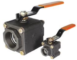L & T Make Three Piece Ball Valve