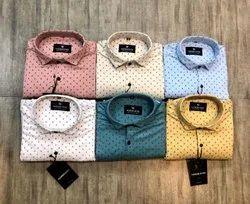 Dot Printed Shirts