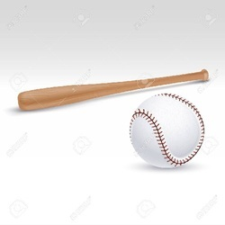 Wooden Bat And Ball Set
