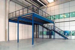 Mezzanine Floor Storage Rack