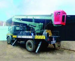 Z Boom Type Hydraulic Platform