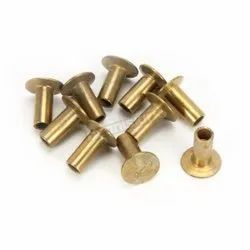 SRCF Brass Rivet, Size: 4mm To 12 Mm