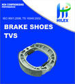 Hilex Brake Shoe for TVS King 3 Wheeler