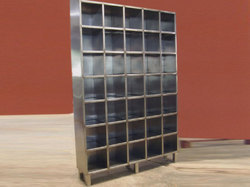 SS Shoes Rack Cabinet