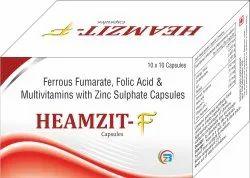 Ferrous Fumarate, Folic Acid, Zinc & Multivitamins Capsules