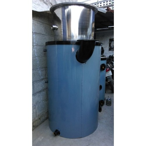 Silver Stainless Steel Steam Boiler, Automation Grade: Semi-Automatic