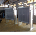 Aluminum & Ss Electric Air Cooled Condenser For Refrigeration, Diameter Of Fans : 200 Mm