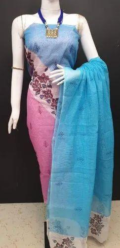 Unstitched Kota Doriya Dress Material