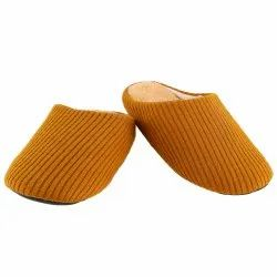 Men Front Closed European House Slippers, Size: 6-10