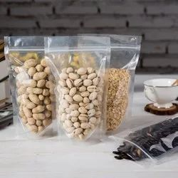 Transparent Food Packaging Pouch