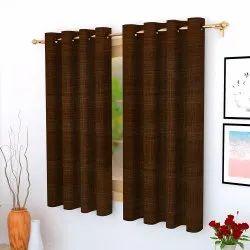 孔眼提花绽放窗帘,大小:5英尺