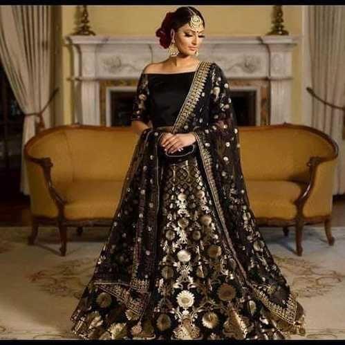 8a8959ebae Bridal Satin Silk Lehenga Choli, Rs 5000 /piece, Heena Arts | ID ...