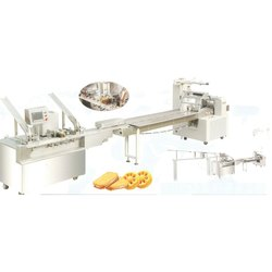 Biscuit Single Flavor Sandwiching Connect Packing Machine