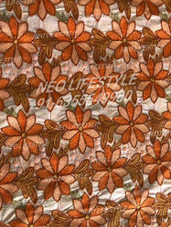Schiffli Digital print fabric