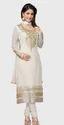 White Disigner Punjabi Suit