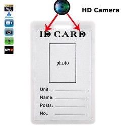 Spy Identity Card Camera