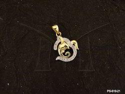 Temple American Diamond Pendant Set