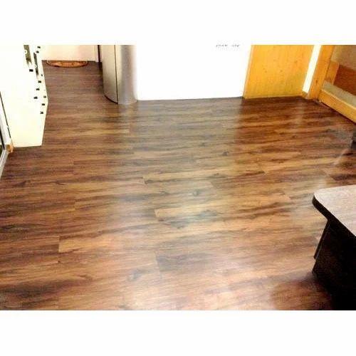 Vinyl Carpet Flooring India: Brown PVC Vinyl Flooring, Rs 60 /square Feet, Regency