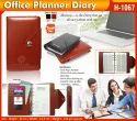 Black & Maroon Planner Diary