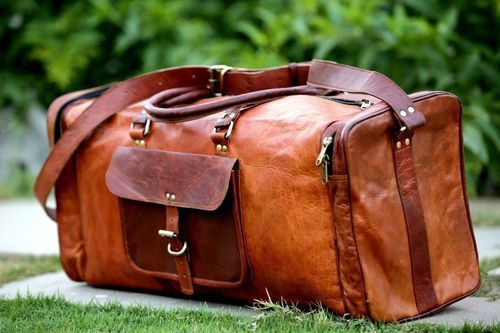 3c1c132612 Brown Leather Travel Bags