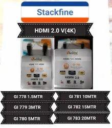 Stackfine HDMI 4K 2.0 Cable