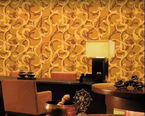 Yellow Color Wallpaper Black Color Wallpaper Wholesaler From Vadodara