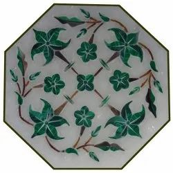 High Quality Italian Inlay Marble Dining Table Top