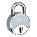 Hardened Steel Doors Padlock 58 Mm, Chrome, Packaging Size: 5 Piece