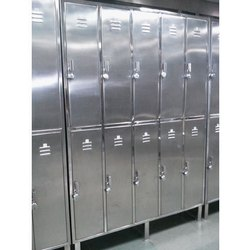 Grey Sai Steelrange Stainless Steel Locker Almirah
