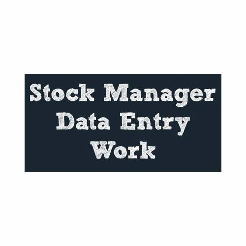 Stock Management Offline Data Entry Services