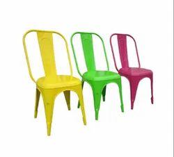 金属咖啡颜色时尚的咖啡馆和餐厅椅子,可容纳80公斤