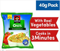 40 Gm Homestyle Masala Quaker Oats