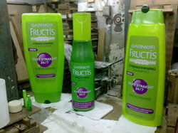 Life Size Product Replica For Garnier Bottles