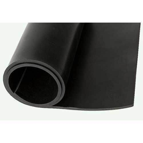 Black Neoprene Rubber Sheet Thickness 4mm Rs 400
