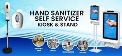 Hand Sanitizer Dispenser With Self Service Kiosk