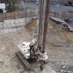 Liner Pile Foundation Services, Concrete
