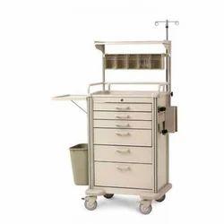 Medicine Trolley With Bins