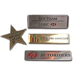 Brass Metal Badges
