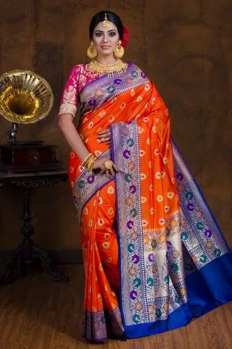 Katan Meena Silk Saree