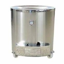Stainless Steel Round Gas Drum Tandoor, for Restaurant, Capacity: 22 Roties