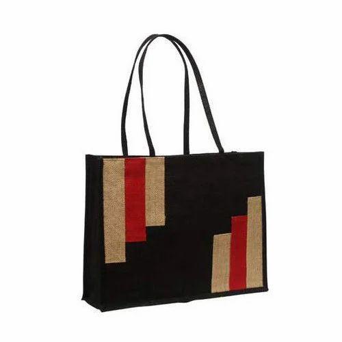 188c5d09ed Printed Ladies Jute Bag