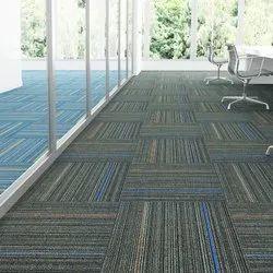 Wool Floor Carpet, Thickness: 7 mm, Size: 2X2 Feet
