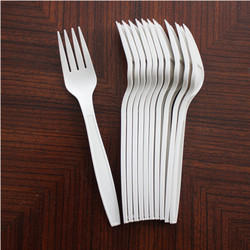 110 Mm Disposable Plastic Fork