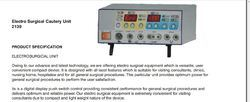 Electro Surgical Cautery Unit