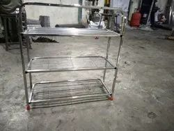 Stainless Steel Wire Shoes rack