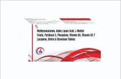 Methylcobalamin Alpha Lipoic Acid L Methyl Folate Vitamin D Biotin Chromium