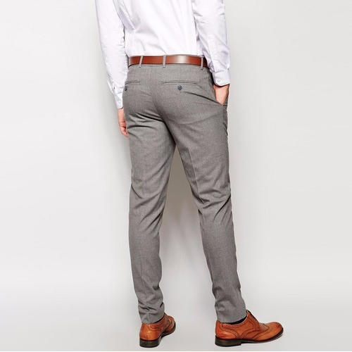 6a59cbb5bf Mens Grey Formal Pant
