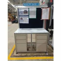 Aluminum Assembly Workbench, For Industrial