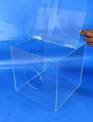 Acrylic Safety PPE Dispenser