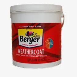 Berger High Gloss Exterior Wall Paint, For Interior, Packaging Type: Bucket